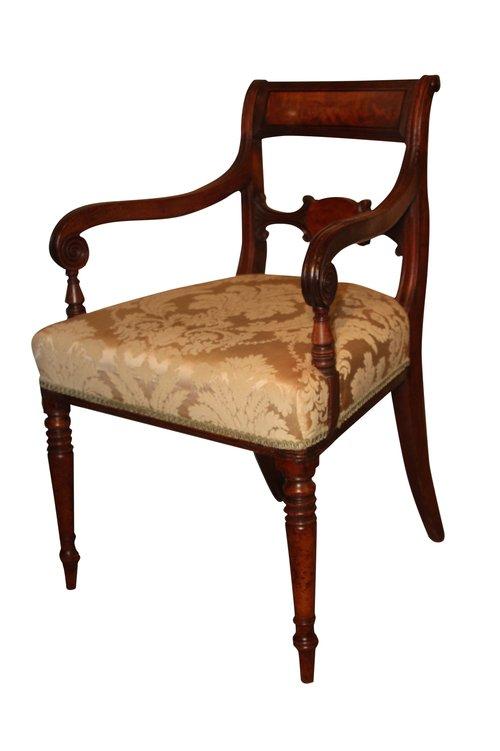 Regency Carver Chair