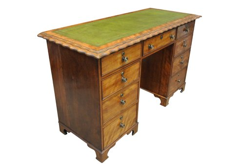 Small Antique Mahogany Desk