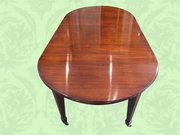 Edwardian inlaid mahogany exte