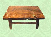 Elm country coffee table