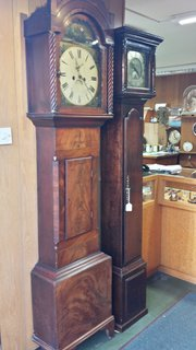 Walnut Veneer 8 Day Longcase G
