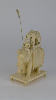 19th Century Indian Ivory Elep