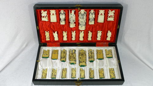 Antiques Atlas Quality 1930 39 S Chinese Ivory Chess Set