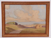 Eric Brown 1930s Oil on Board