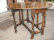 Antique style oak gate leg  ta