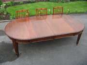 Edwardian mahogany extending t