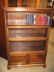 Mahogany stacker type  bookcas