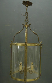 Large brass lantern