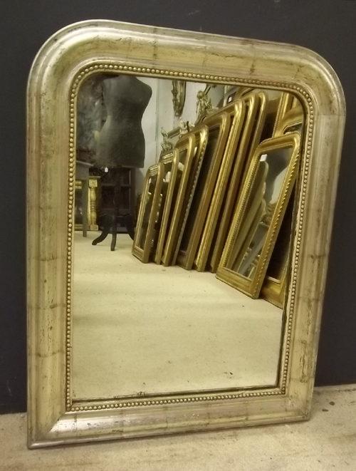 Antiques atlas silver antique louis philippe style mirror for Miroir louis philippe