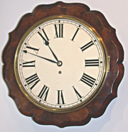 WH fusee wall clock