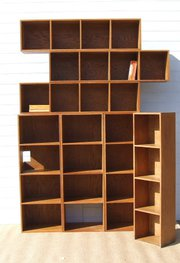 English oak modular storage un