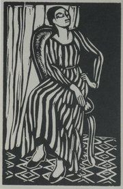 Roger Fry 18661934  Woodcut