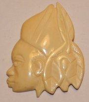 Vintage Art Deco Carved Cellul