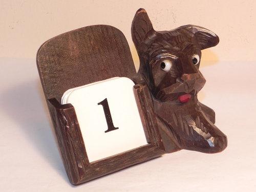 Perpetual Calendar Art Deco : Antiques atlas vintage art deco wooden dog perpetual