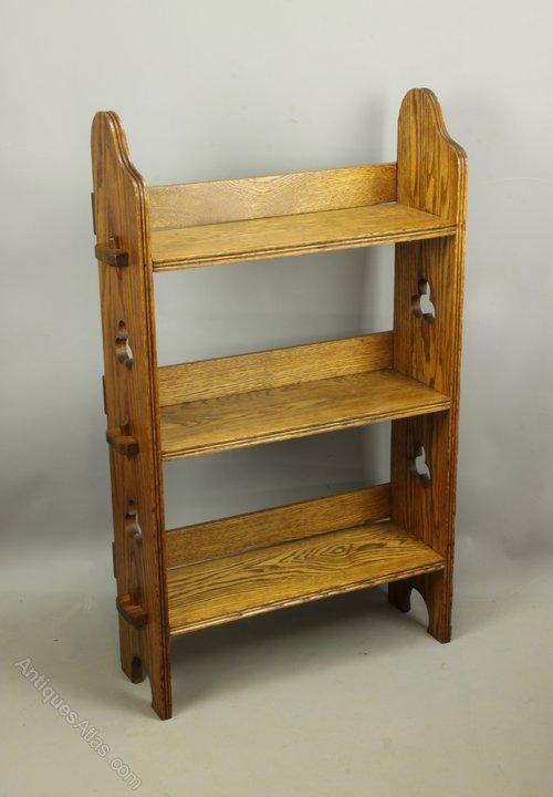 Arts Crafts Liberty Oak Sedley Bookcase, c 1905