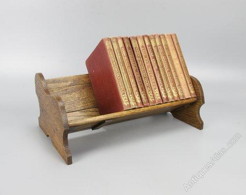 Arts & Crafts Adjustable Extending Book Trough