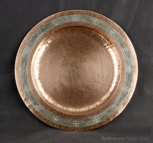 Arts & Crafts Copper Plate St C Guild 1936
