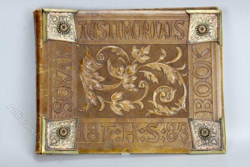 Arts & Crafts Leather Scrap Book Testimonials