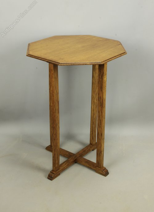 Arts & Crafts Oak Occasional Table, c1920