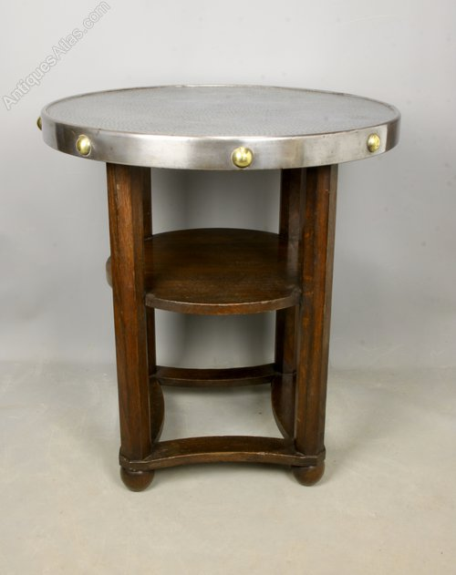 Arts and Crafts Jugendstil Side Table c1920