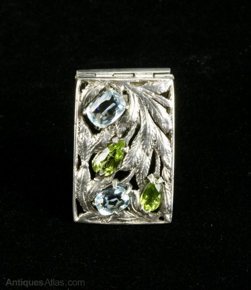 Bernard Instone Arts & Crafts Clip Brooch c1930