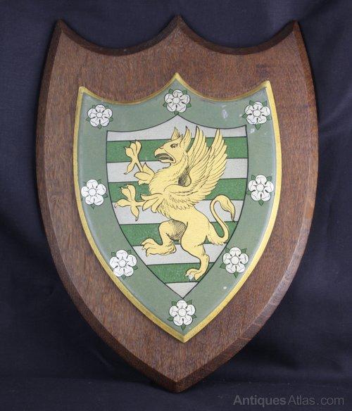 Cambridge Downing College Shield Crest circa 1890