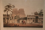 Henry Salt Aquatint Pagoda at