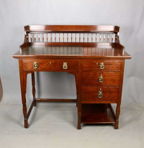 Shapland and Petter Arts & Crafts Desk c1900