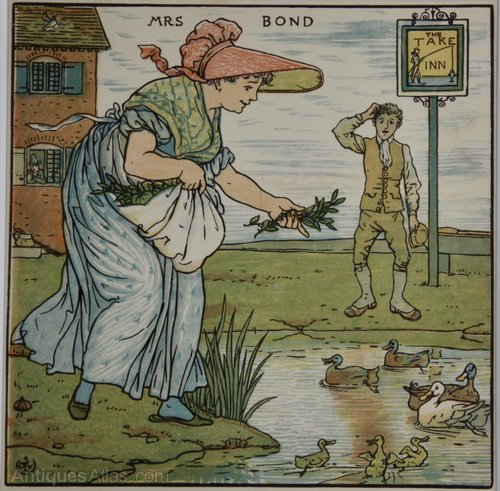 Walter Crane Illustration The Baby's Opera 1900