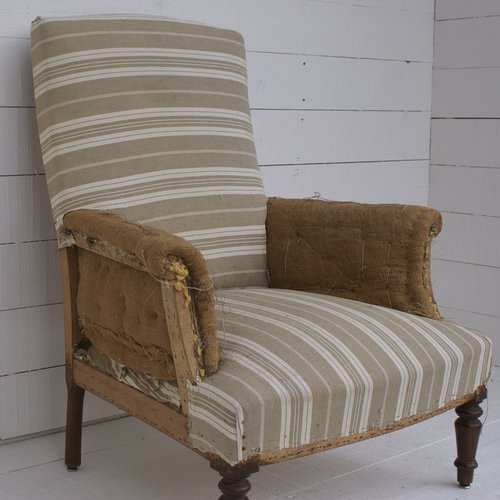 Antique french armchair for re upholstery antiques atlas