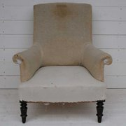 Antique French Armchair for Re