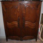 Antique French Oak Armoire