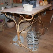 Antique French Wrought Iron Ca