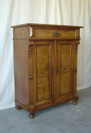 Dutch Walnut  Oak Cupboard