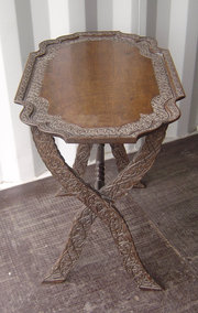 Indian Hardwood Side Table