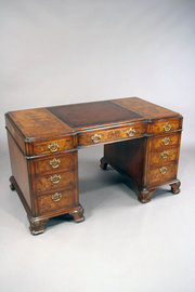 Quality Antique Burr Walnut Pe