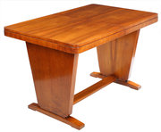 Art Deco Walnut Dining Suite