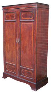 Inlaid Mahogany Wardrobe
