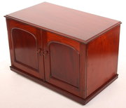 Small Mahogany TV Cabinet  Sta