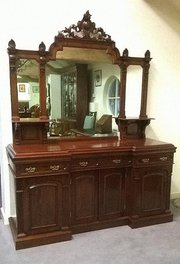 19thC four door sideboard