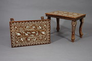 Pair of decorative Indian hard