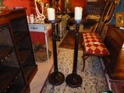 A pair of Georgian Torcheres