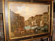 VENETIAN SCHOOL OIL AFTER FRAN