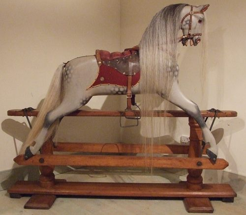 the storm and the rocking horse It rocks, dad parents will love design of this rocking horse, and children will  simply adore jumping aboard giddy up this unusual quadruped has it all: a  design.