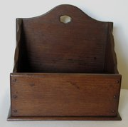 Antique Oak Desk Tidy