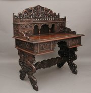 Chinese carved desk