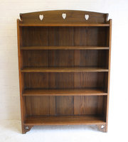 An Arts  Crafts Oak Bookcase