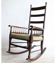 An Arts  Crafts Rocking Chair