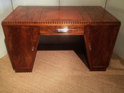 ART DECO PEDESTAL DESK