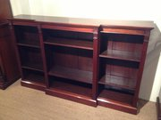 EDWARDIAN MAHOGANY BREAKFRONT